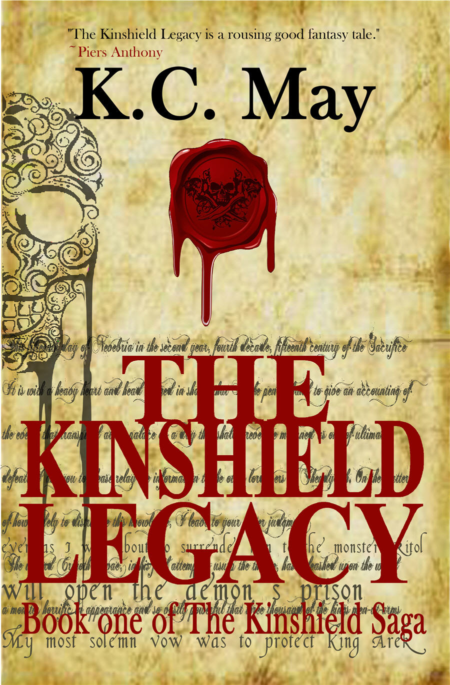 GoodReads entry for The Kinshield Legacy